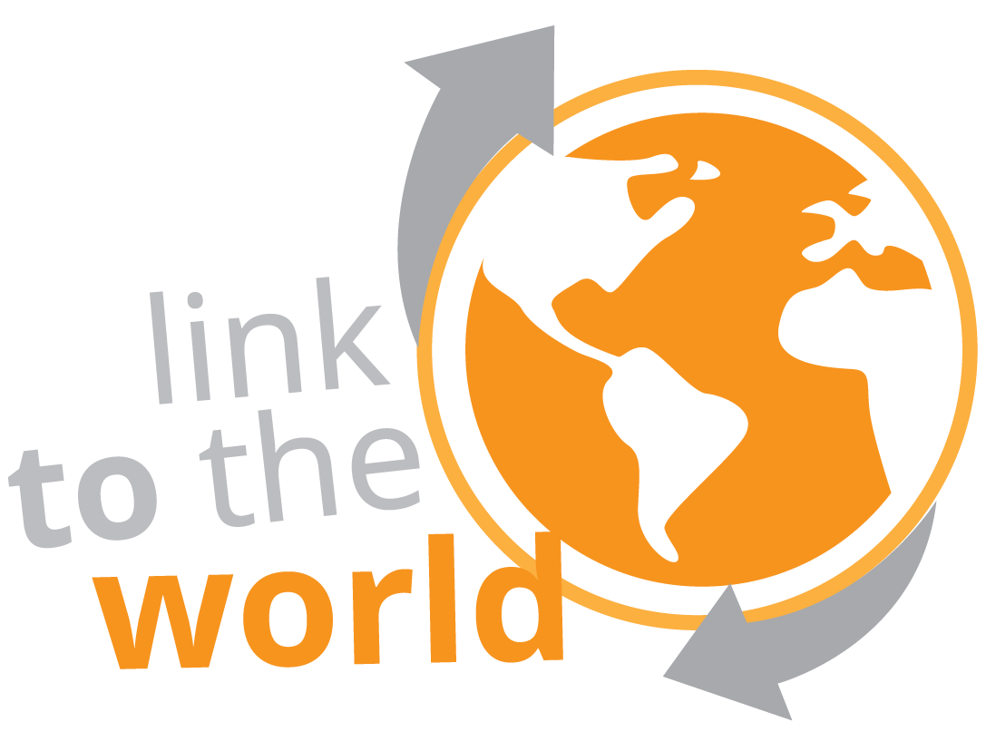 Link To The World Logo